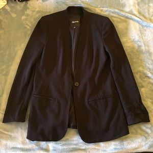NWOT Madewell 'Tribune Blazer' in Black Size 6